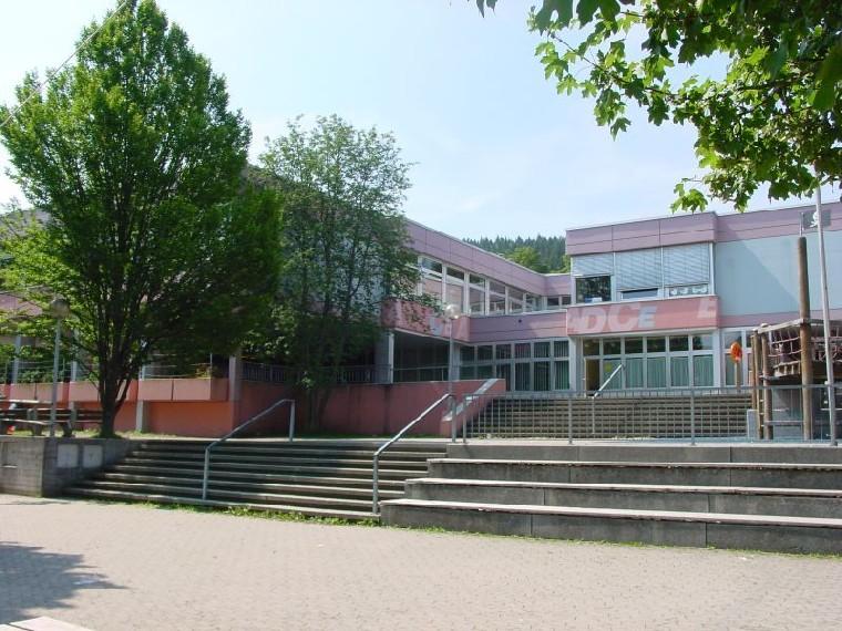 Außenansicht der Grundschule Schrotenschule Tuttlingen