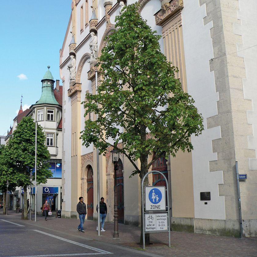 Fussgängerzone Stadtkirche alt
