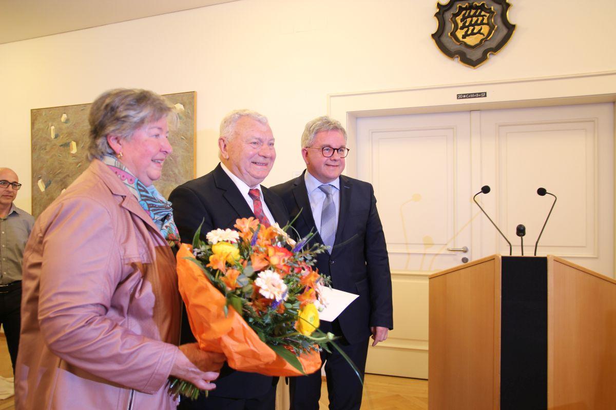 Minister Guido Wolf Mdl u. Herbert Tiny