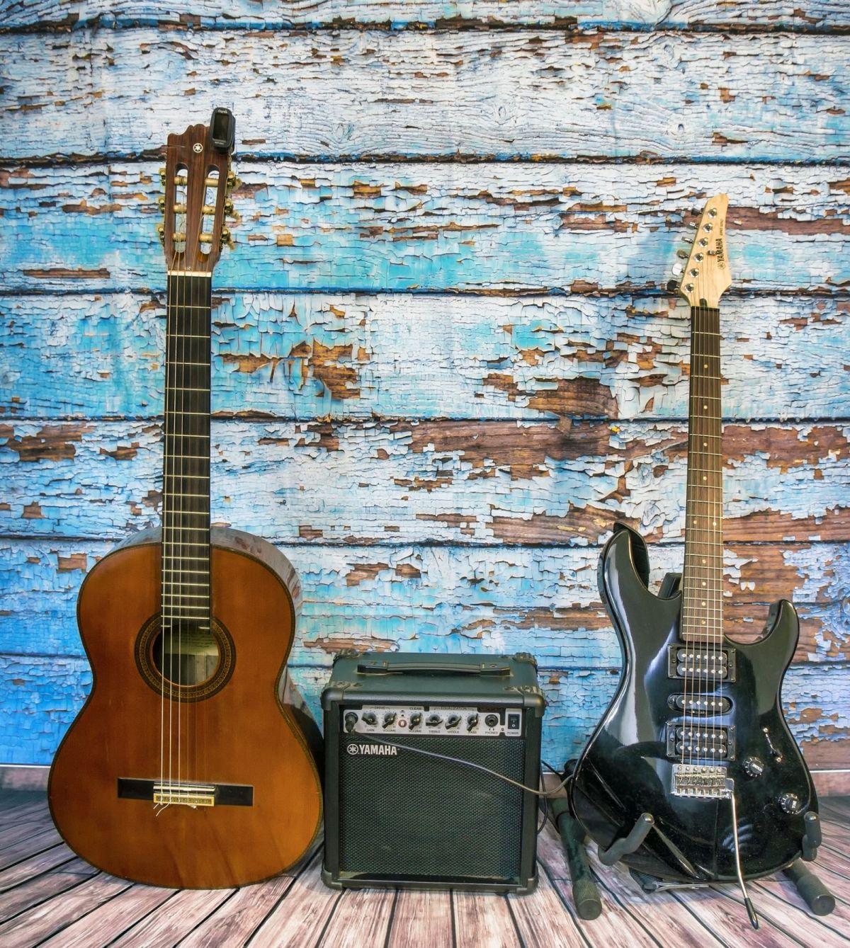 Gitarre und EGitarre