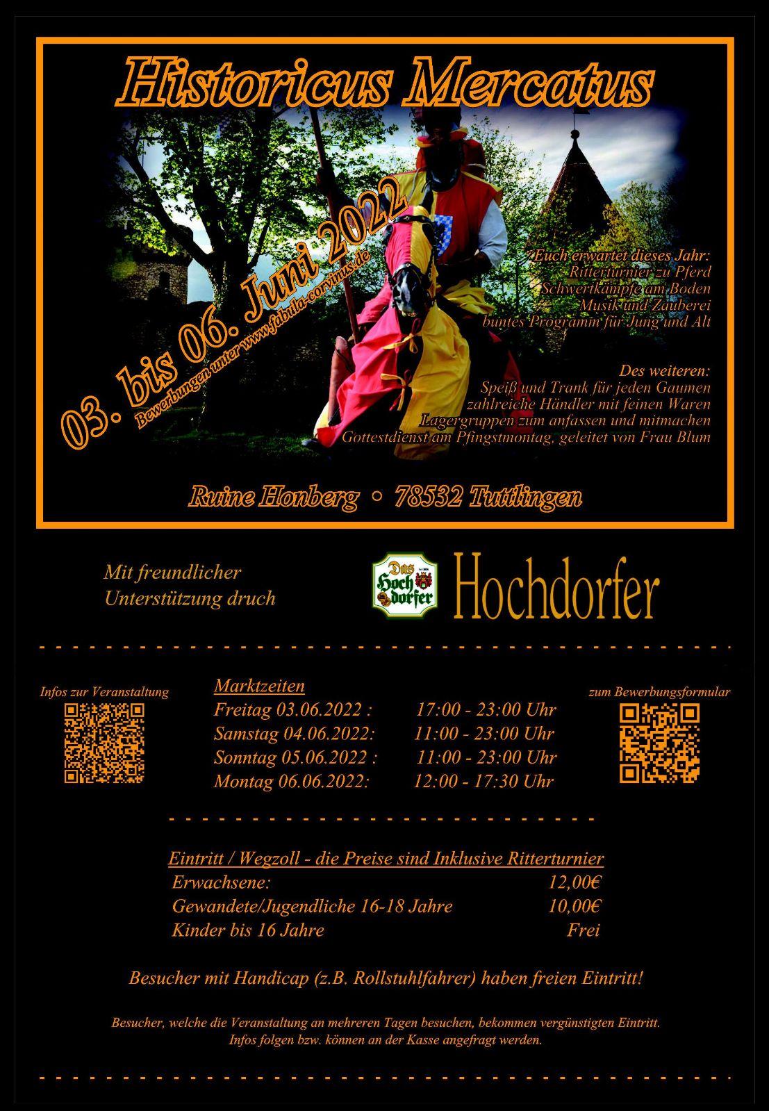 Mittelaltermarkt 2018 Flyer