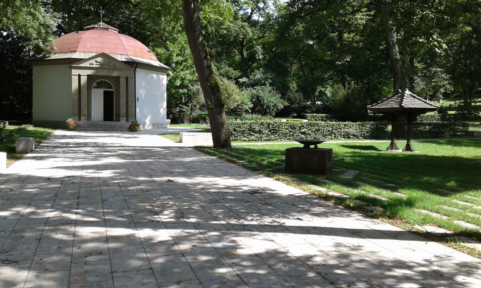 Umgestaltung Alter Friedhof