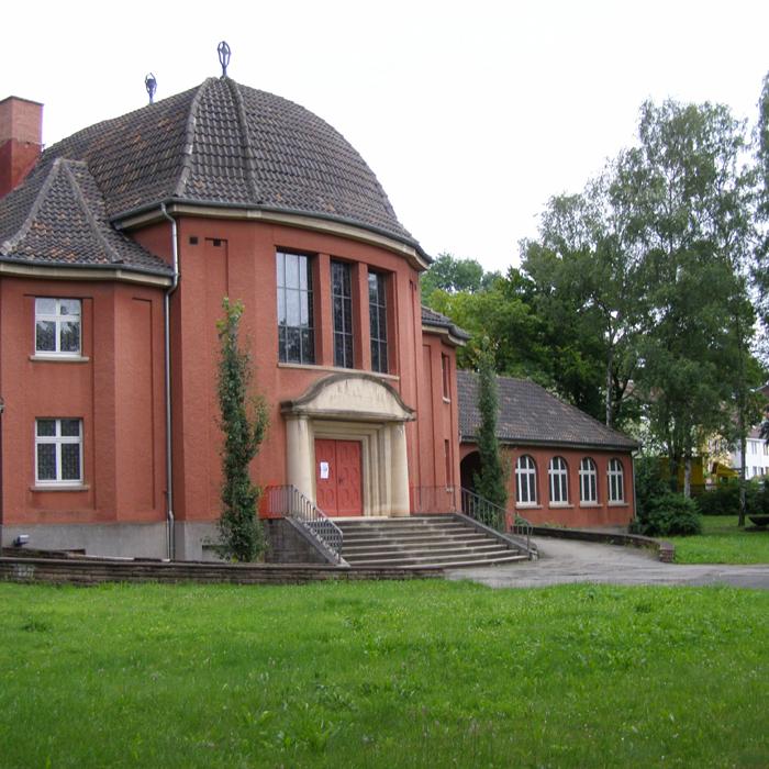 Krematorium Außenansicht