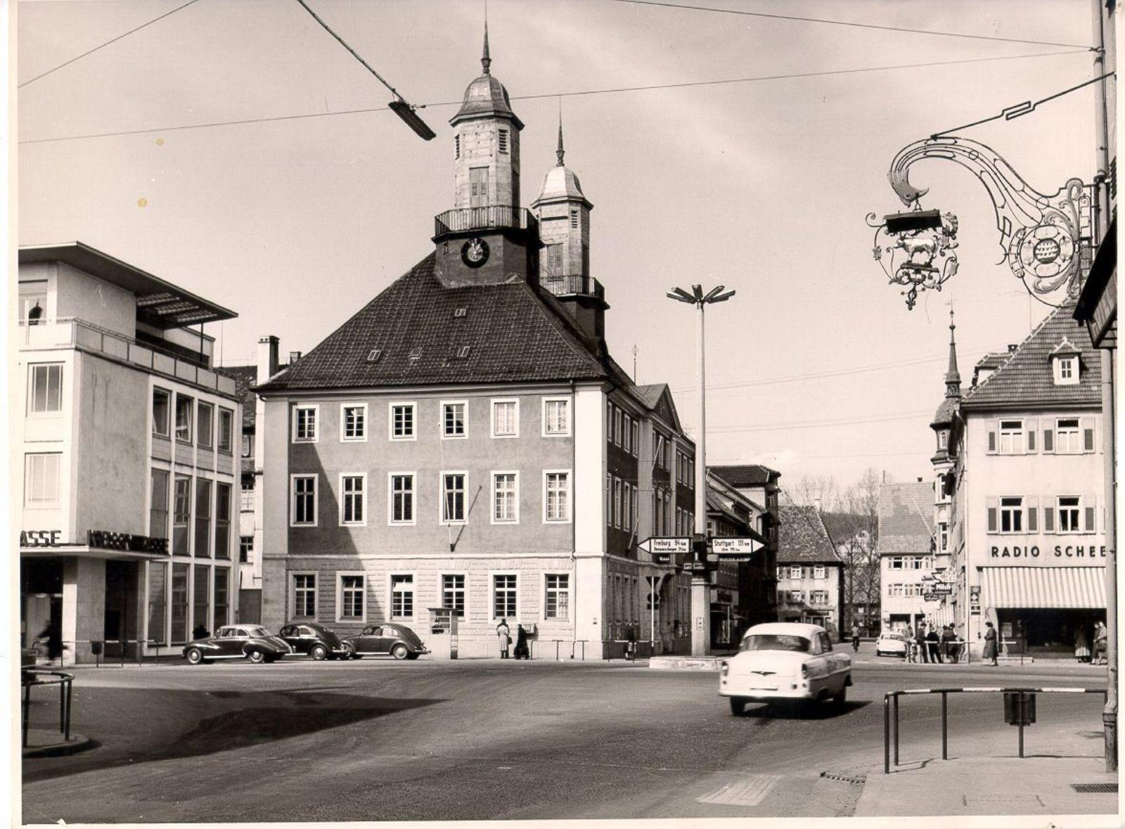 Marktplatz um 1950