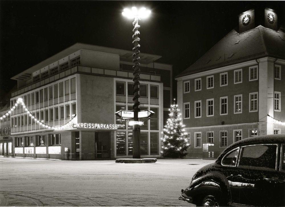 Historischer Marktplatz an Weihanchten