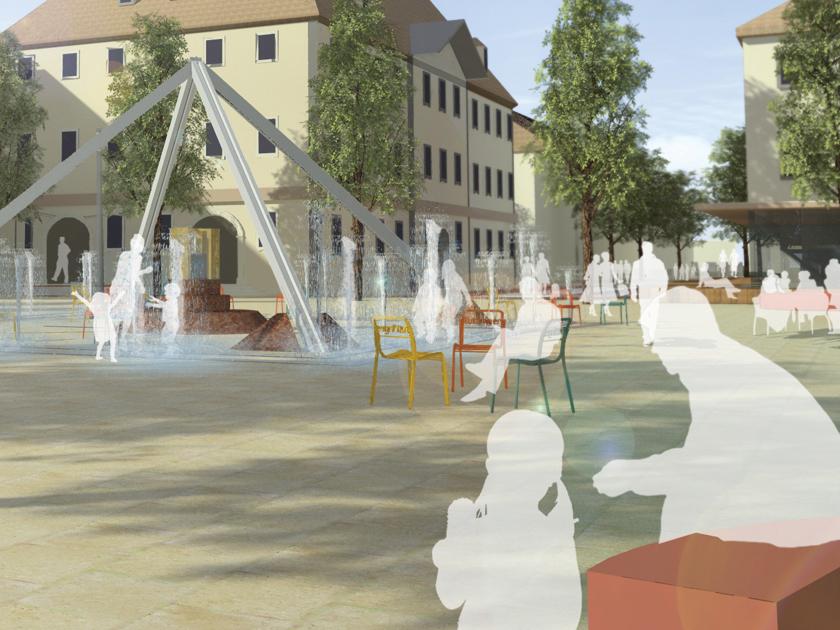Fußgängerzone Marktplatz
