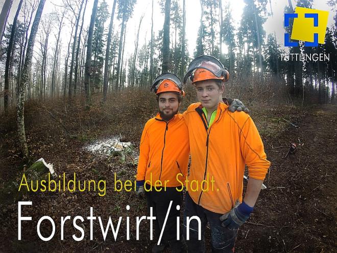 Ausbildung Bei Der Stadt Forstwirtin Stadt Tuttlingen