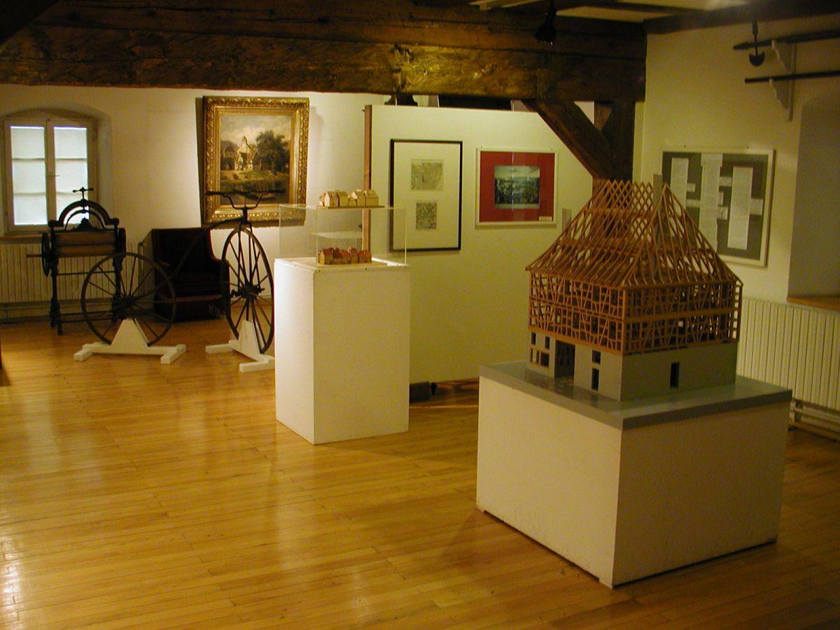 Modell Tuttlinger Hut im Fruchtkasten
