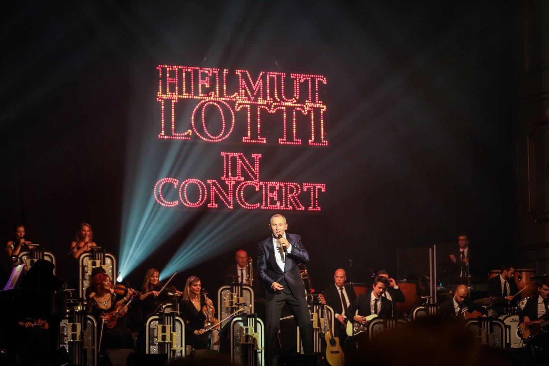 Helmut Lotti auf der Bühne