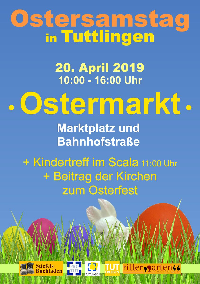 Plakat Tuttlinger Ostermarkt
