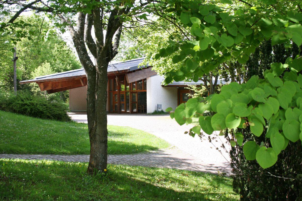 Krematorium außen