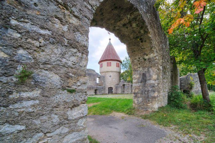 Burgruine auf dem Honberg