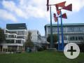 Außenansicht der Fritz-Erler-Schule Tuttlingen