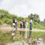 Führung an der Donauversickerung