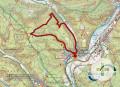 Karte zur Känzele-Wanderung in Möhringen