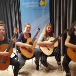 Gitarrenquartett der Musikschule