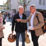 Bild OB Beck Marktplatz
