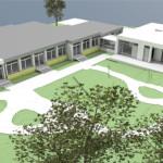 Bild des geplanten Umbaus am Kindergarten Nendingen