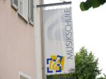 Der Banner der Musikschule Tuttlingen