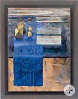 """Kunstwerk """"Weggefährte"""" von Künstler Udo Braitsch, 2000, Öl auf Leinwand"""