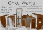 Plakat des Stücks Onkel Wanja