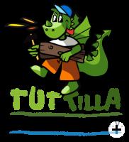Bild Logo von Tuttilla Comic-Drache