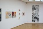Blick in die Räumlichkeiten der Galerie Tuttlingen, Jahresausstellung 2019