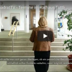 Screenshot QuadratTV Termine im Rathaus Tuttlingen