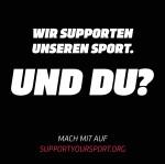 Aktionsfoto #SupportYourSport