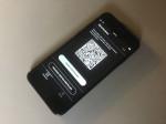 Die Luca-App ist auf einem Smartphone geöffnet. Man sieht einen QR-Code.