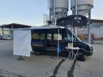 Der Jugendbus, eines von drei mobilen Testzentren