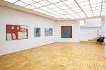 Blick in die Ausstellung Zeittiefe von Dietlinde Stengelin
