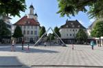 Die Fußgängerzone in Tuttlingen