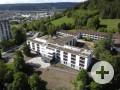 Luftbild des Altenzentrums Bürgerheim Tuttlingen