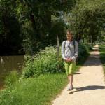 Daniel Beerstecher an der Donau