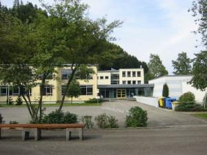 Außenansicht der Grund- und Hauptschule Tuttlingen-Möhringen