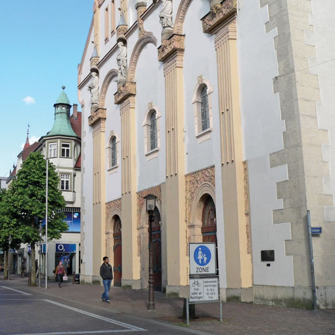 Fussgängerzone Stadtkirche neu