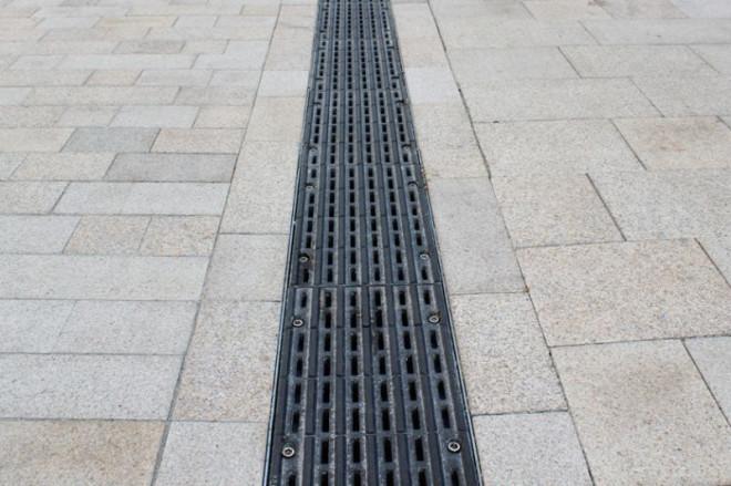 Fußgängerzone Barrierearmut