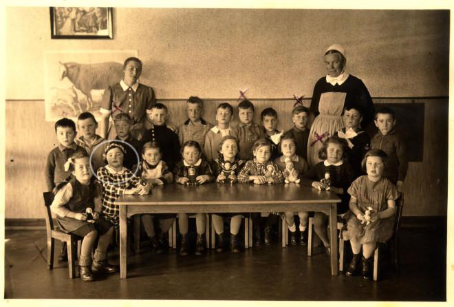 Edith Kälbermann im Kindergarten