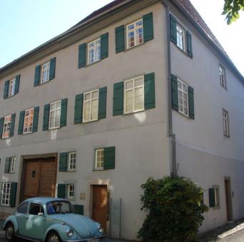 Blick auf das Tuttlinger Haus