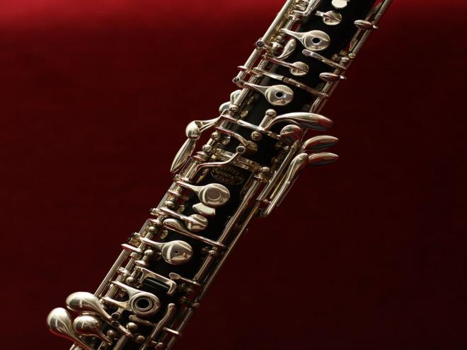 Bild von einer Oboe