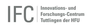 Logo des Innovations- und Forschungs-Centrum Tuttlingen der HFU
