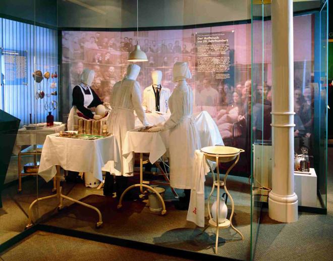 Bild aus dem Museum Asklepios