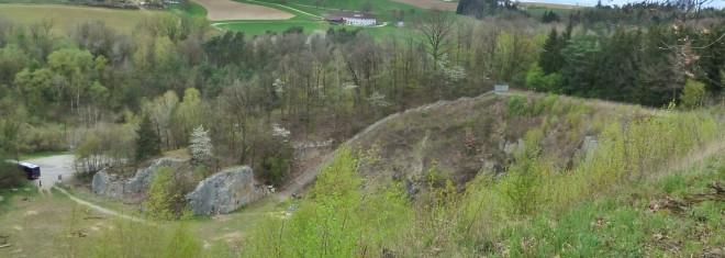 Bild der Todesstiege in Mauthausen