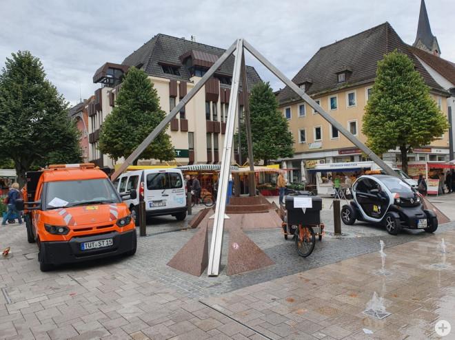 E-Fahrzeuge des Bauhofs