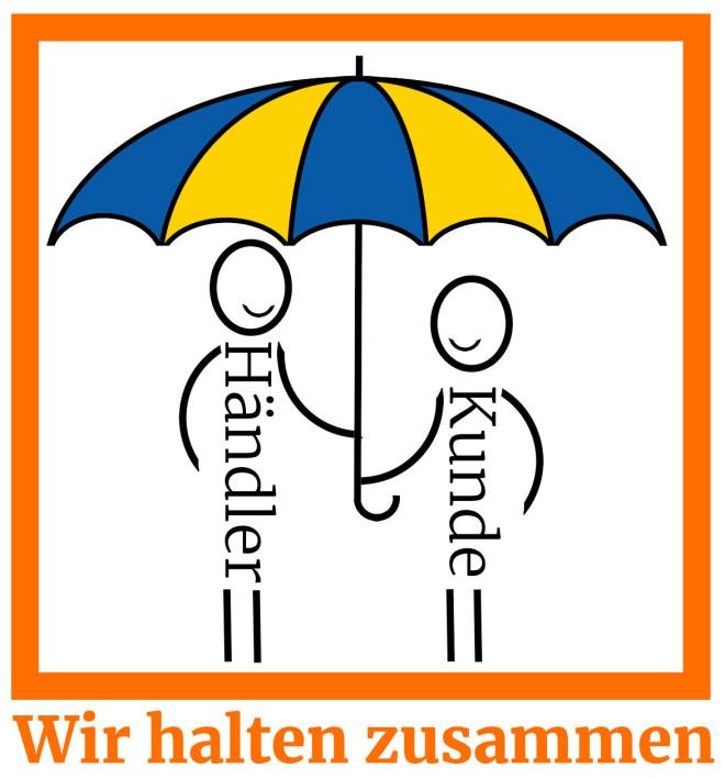 Logo Wir halten Zusammen