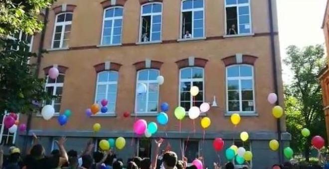 Wilhelmschule Luftballons