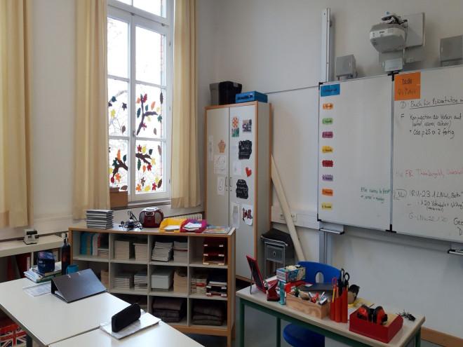 Wilhelmschule Klassenzimmer