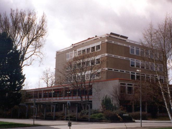 Ansicht des Bestandsgebäudes des IKG