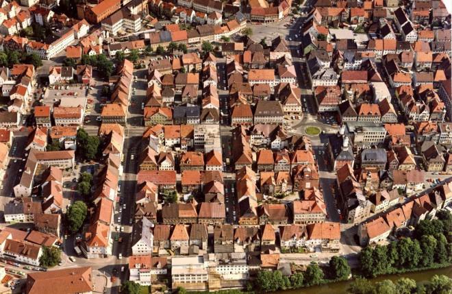 Marktplatz um 1976